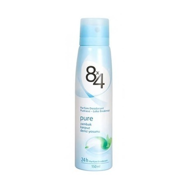 8x4  Pure Bayan Parfüm Deodorant 150ml Renksiz